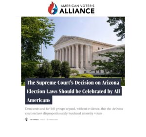 In The Press: American Voter's Alliance Op-Ed Featured on El American