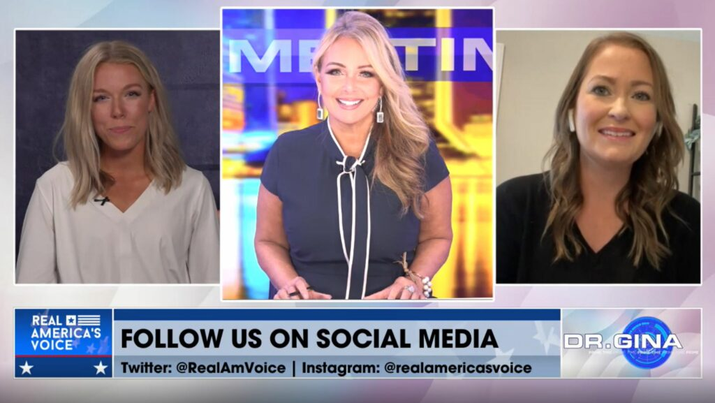 American Voters' Alliance Founder, Jacqueline Timmer, Joins Real America's Voice's Dr. Gina Primetime to Speak About California Investigation