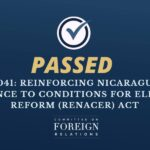 El American: 'U.S. Senate Passes Bill to Promote Free Elections in Nicaragua'