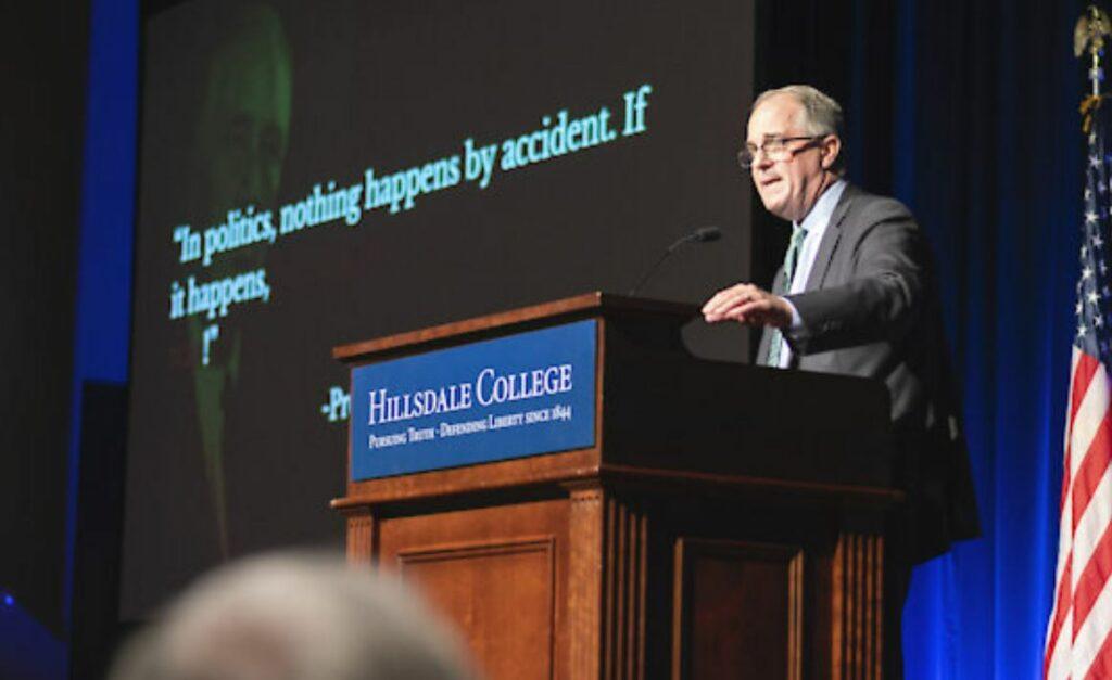 Phill Kline at Hillsdale College
